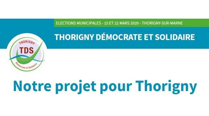Notre programme pour les elections municipales 2020